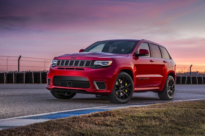 2018 Jeep Grand Cherokee Trackhawk Racing Exterior
