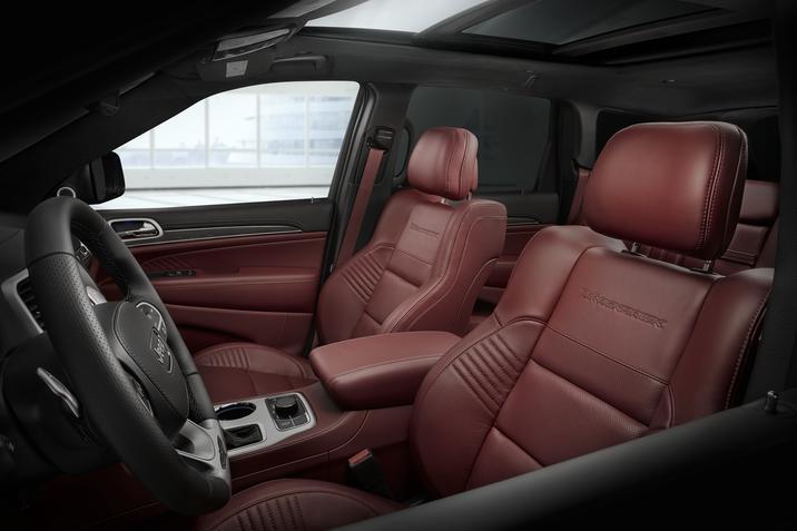 2018 Jeep Grand Cherokee Trackhawk Seating Interior