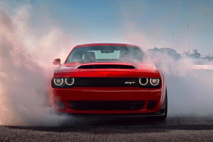 2018 Dodge Challenger SRT Demon Straight Front Exterior