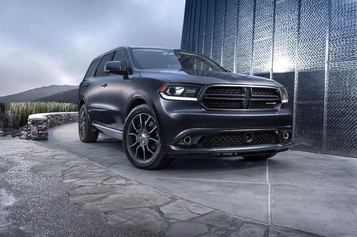 2017 Dodge Durango Front Exterior Gray