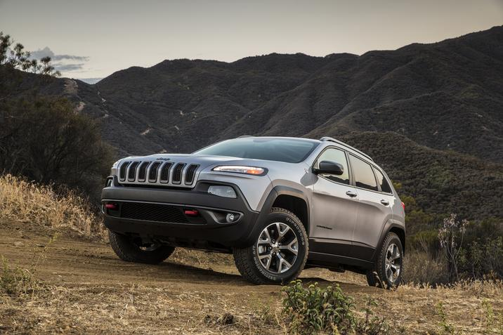 2018 Jeep Cherokee Trailhawk Front Gray Exterior