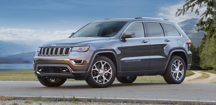 2018 Jeep Grand Cherokee Side Gray Exterior