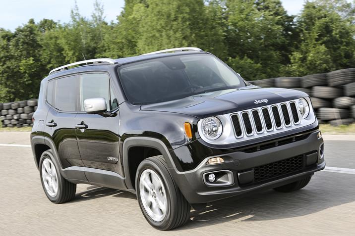 2018 Jeep Renegade Limited Front Side Exterior