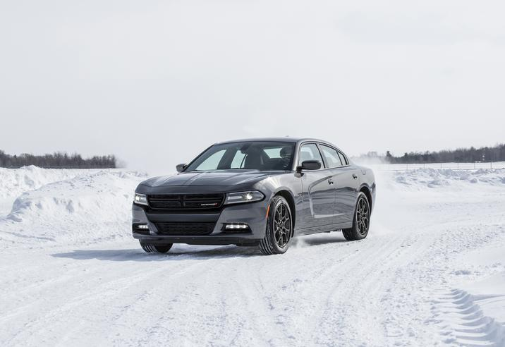 2018 Dodge Charger GT AWD Front Silver Exterior