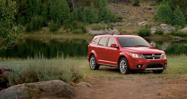 2018 Dodge Journey Front Red Exterior