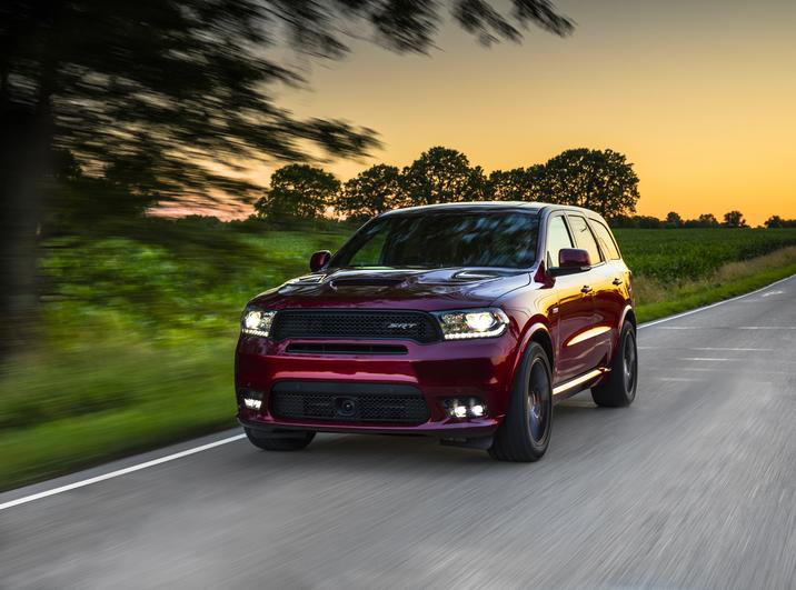 2018 Dodge Durango SRT Front Red Exterior