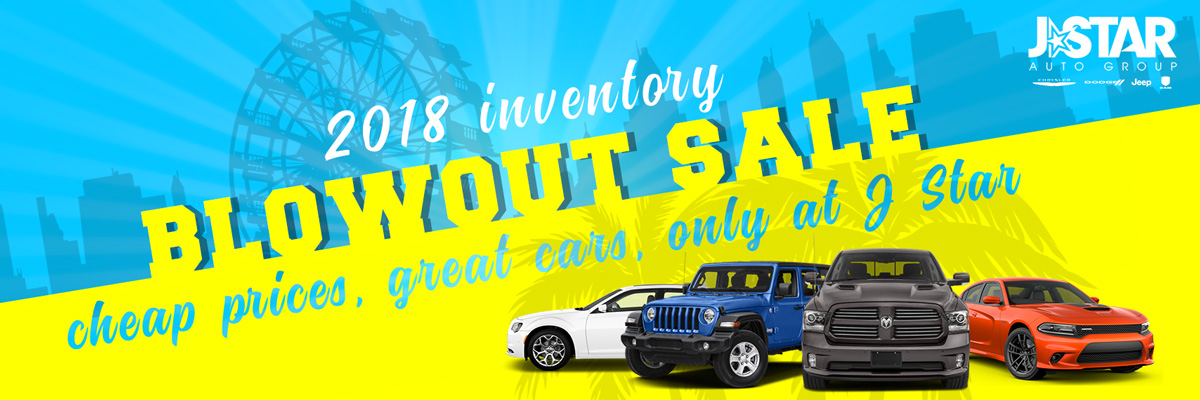 2018 Inventory Blowout Event - New Cars For Sale in Anaheim Hills