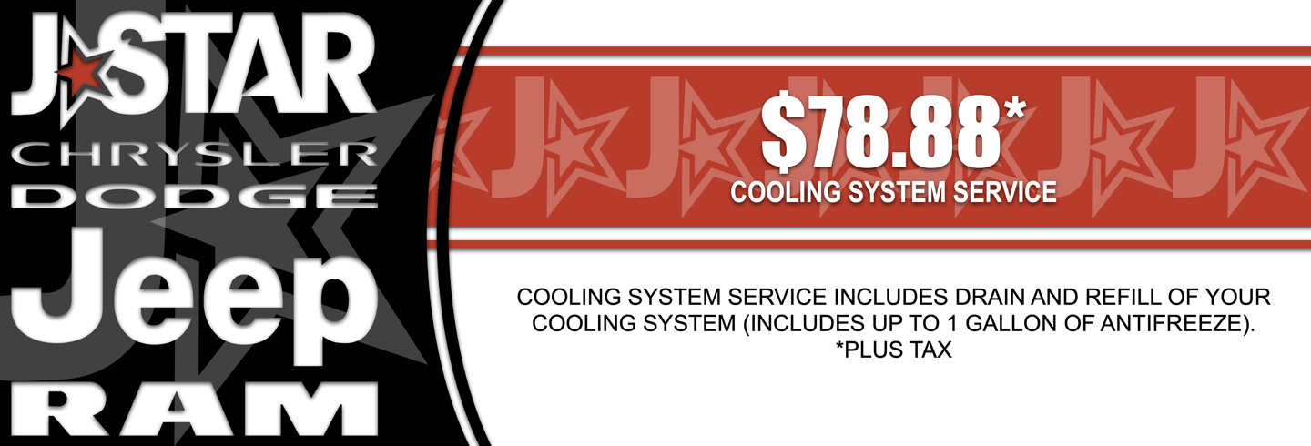 $78.88 COOLING SYSTEM SERVICE