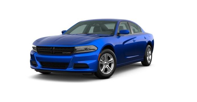 2020 Dodge Charger Blue Front Exterior Picture