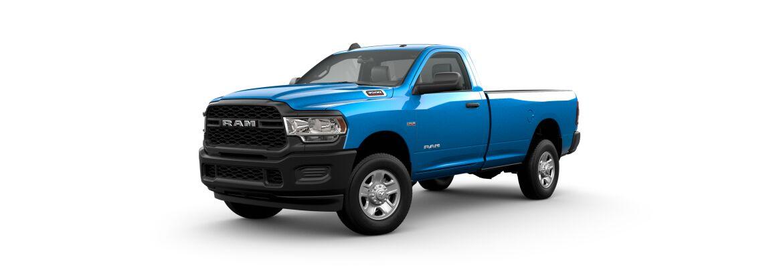 2021 Ram 3500 Front Blue Exterior Picture